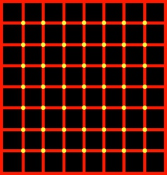 Optical with yellow dots vector