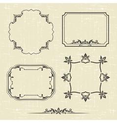 Patterned frame vector