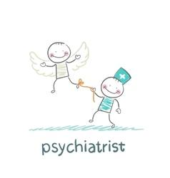 Psychiatrist keeps bound patient that he did not vector