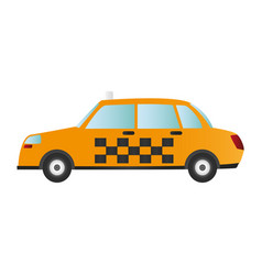 taxi or cab sideview icon image vector image vector image