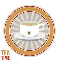 Tea design vector