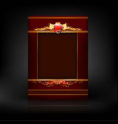 Abstarct menu icon vector