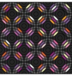 Circles pattern abstarct vector