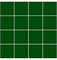 Grid Square Green Background vector image vector image