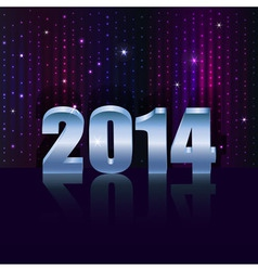 New 2014 year holiday background with copy space vector image