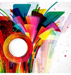 Multicolor abstract bright background elements for vector