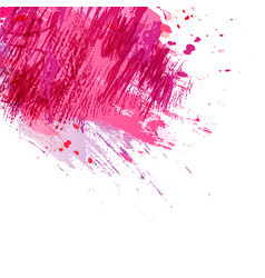 brush-pink-background vector image