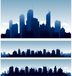 cities vector image vector image