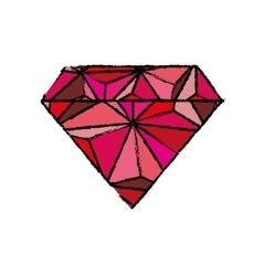 Diamond luxury jewerly vector