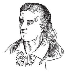 Johann schiller vintage vector