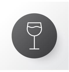 wine icon symbol premium quality isolated vector image