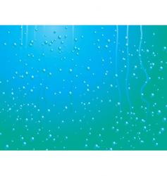 Raindrops on window vector