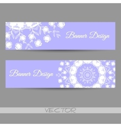 Bannerornamental vector