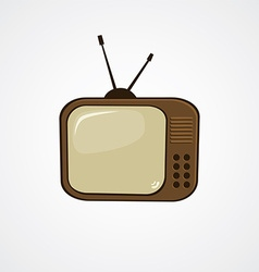 Cartoon television theme vector