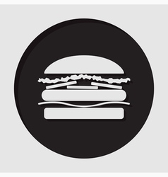 Information icon - hamburger vector