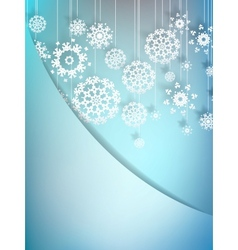 Christmas Background EPS10 vector image vector image