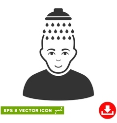 Head shower eps icon vector