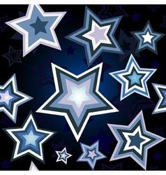 stars wallpaper vector image