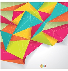 Background paper color folded wt vector
