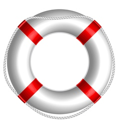 Rescue buoy vector