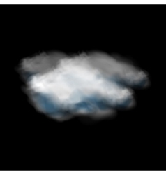Clouds weather icon vector image vector image