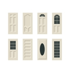 doors set vector image