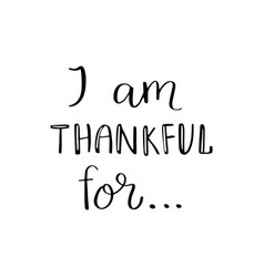 I am thankful for quote vector
