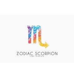 scorpion zodiac slogo Scorpion symbol Creative vector image