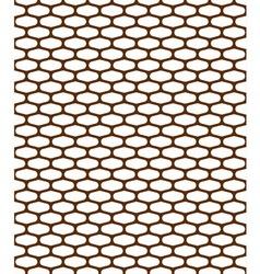 pattern metal grille vector image