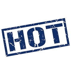 hot stamp vector image vector image