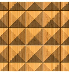 wooden pyramides vector image