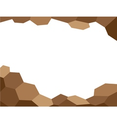 Abstract background brown vector