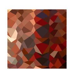 Dark pastel red abstract low polygon background vector