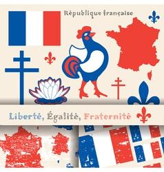 France symbols vector