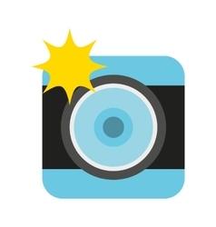 camera photographic photo icon vector image