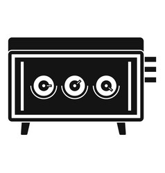 cd changer icon simple style vector image vector image