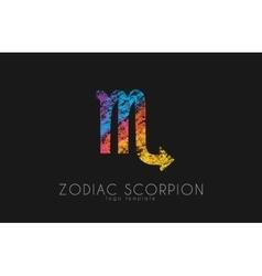 Scorpion zodiac slogo scorpion symbol creative vector