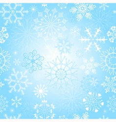 Christmas pattern repeating vector image