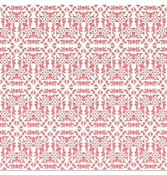 Lace pink seamless pattern vector