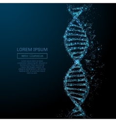 abstract DNA concept vector image