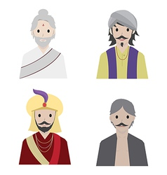 India character vector