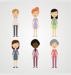 people - women vector image