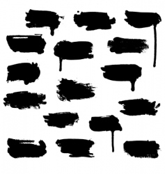 Watercolour blots vector