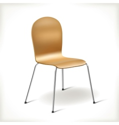 Kitchen chair vector