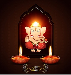 Indian god ganesh vector
