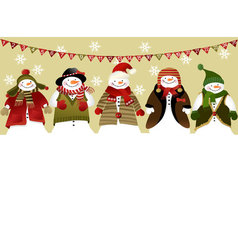 Advent calendar vector image vector image