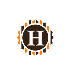 Best quality letter h vector