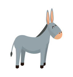 Donkey animal christianity religion image vector