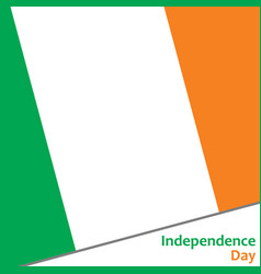 Ireland independence day vector