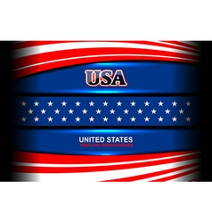 Usa flag backgrounds vector